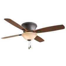 Mojo II Flush Mount Ceiling Fan