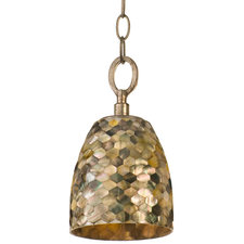 Naturals Dome Pendant with Chain