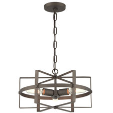 Reel 3 Light Horizontal Pendant