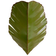 Banana Leaf Wall Sconce