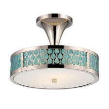 Raindrop Ceiling Semi Flush Mount