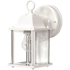 Cube Outdoor Wall Sconce