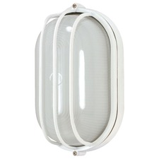 Oval Caged Outdoor Wall Light