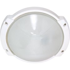 Oblong Round Outdoor Wall Sconce