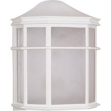 Square Cage Outdoor Wall Sconce