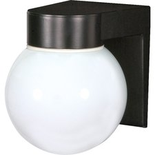 Globe Outdoor Wall Sconce