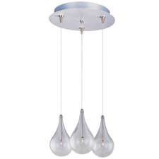 Larmes Multi Light Rapid Jack Pendant with Round Canopy