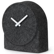 Felt Table Clock