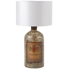 Bordeaux Glass Bottle Lamp