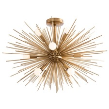 Zanadoo Semi Flush Ceiling Light Fixture