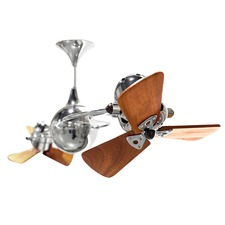 Italo Ventania Wood Damp Ceiling Fan
