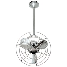 Bianca Directional Metal Damp Ceiling Fan