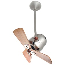 Bianca Directional Wood Damp Ceiling Fan