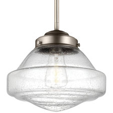 Alcott Saturn Pendant with Edison Bulb