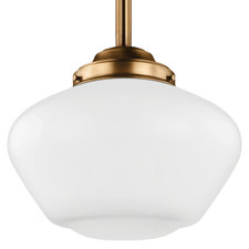 Alcott LED Warm on Dim Wide Pendant