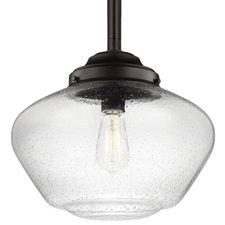 Alcott Wide Pendant with Edison Bulb