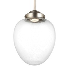 Alcott LED Warm on Dim Oval Pendant