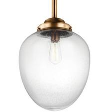 Alcott Oval Pendant with Edison Bulb