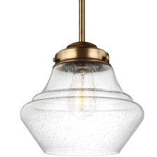 Alcott Open Bottom Pendant with Edison Bulb