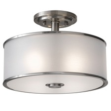 Casual Luxury LED Semi Flush Mount