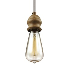 Corddello 1367 Pendant with Vintage-Style Bulb