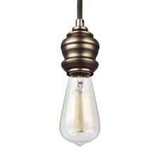 Corddello 1368 Pendant with Vintage-Style Bulb