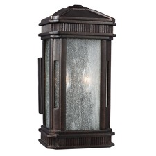 Federal 2 Light Outdoor Wall Light