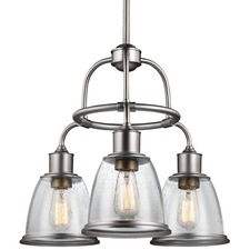Hobson Trio Chandelier with Vintage-Style Bulb