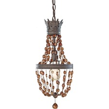 Marcia Mini Pendant with Vintage Style Bulb