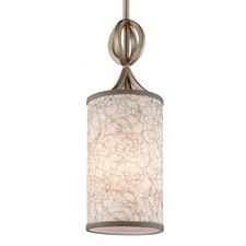 Parchment Park Mini Pendant Burnished Silver
