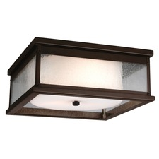 Pediment Outdoor Ceiling Light Fixture