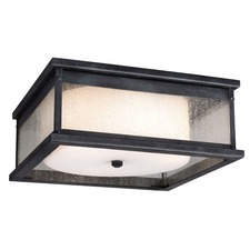 Pediment Outdoor Flush Mount