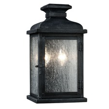 Pediment 2 Light Outdoor Wall Sconce