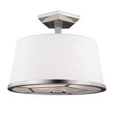 Pentagram Semi Flush Mount