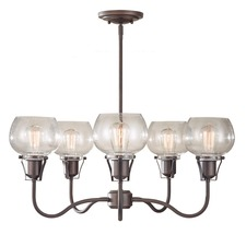 Urban Renewal 2824 Chandelier with Vintage-Style Bulbs