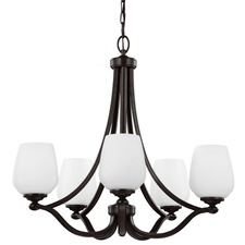 Vintner 5 Light Chandelier Heritage Bronze