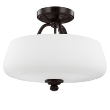 Vintner Semi Flush Mount Heritage Bronze