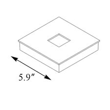 2 inch Square Base Cover