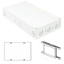 2X100W 24VDC ELV Class 2 LED In-Wall Power Supply