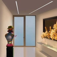 Reveal Wall Wash Plaster-In LED System 10W 24VDC
