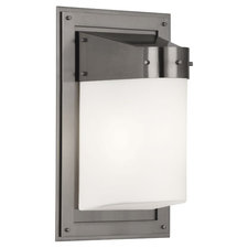 Caspian Outdoor CFL Wall Sconce