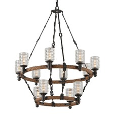 Embarcadero Two Tier Chandelier