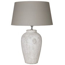 Vesuvius Table Lamp Wide Shade