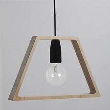 Wooden Cable Pendant