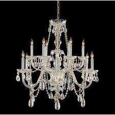 1135 Traditional Italian Crystal 1135 Chandelier