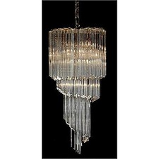 2402 Traditional Crystal Chandelier