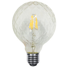 Faceted Globe 5W Medium Base Dimmable 80CRI 2700K