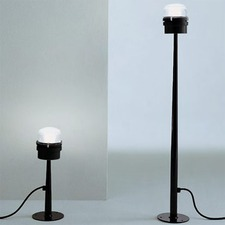 Fresnel Outdoor Floor Lamp