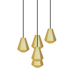 Cell Tall 5Light  Multi-Pendant