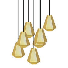 Cell Tall 7 Light Multi-Pendant